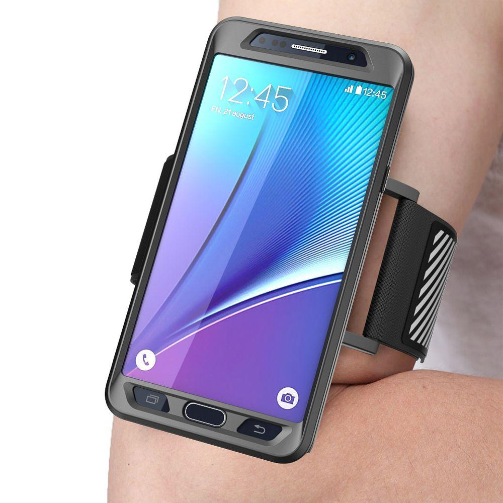Galaxy Note 5 Flexible Sport Armband and Case Combo, Black