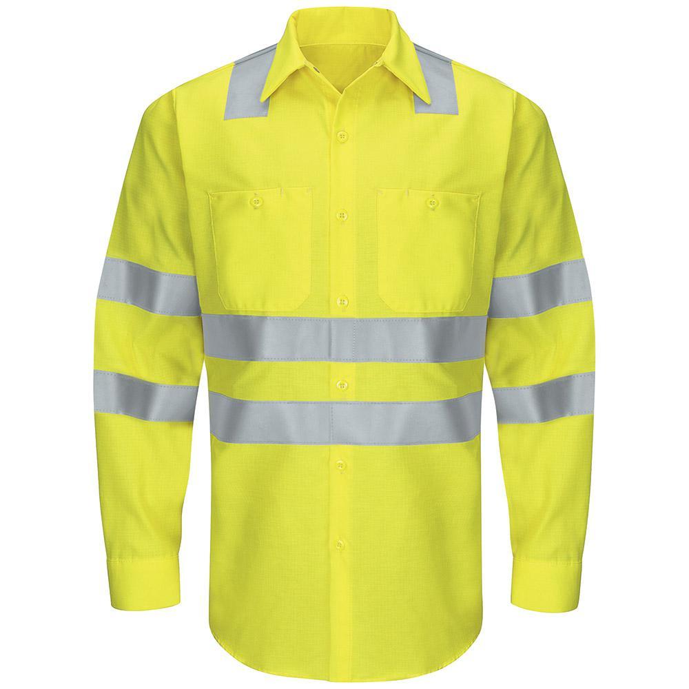 66636cd9f85 Red Kap Class 3 Level 2 Men's X-Large (Tall) Yellow/Green Hi ...