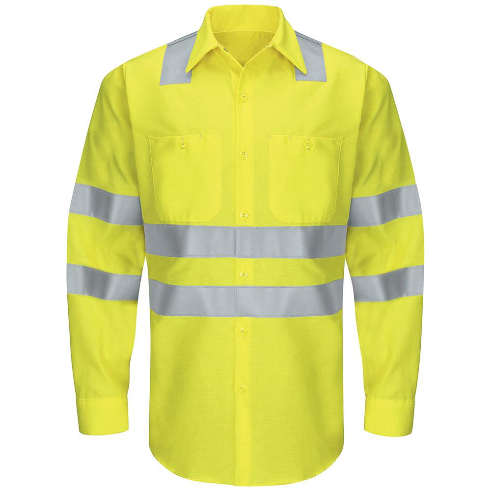 Red Kap Class 3 Level 2 Mens X Large Yellowgreen Hi Visibility