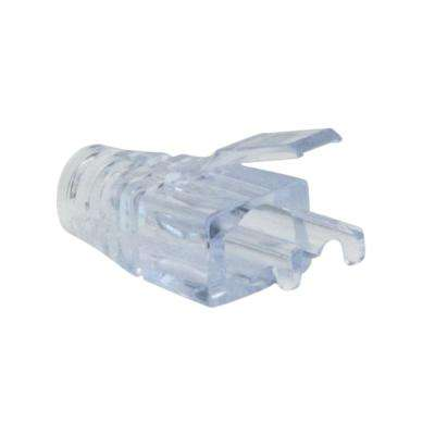 EZ-RJ45 Cat5e Strain Relief in Clear (50 per Bag)