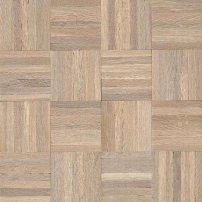 American Home Forever Summer Oak 5/16 in. Thick x 12 in. Wide x 12 in. Length Solid Hardwood Flooring (25 sq. ft./case)