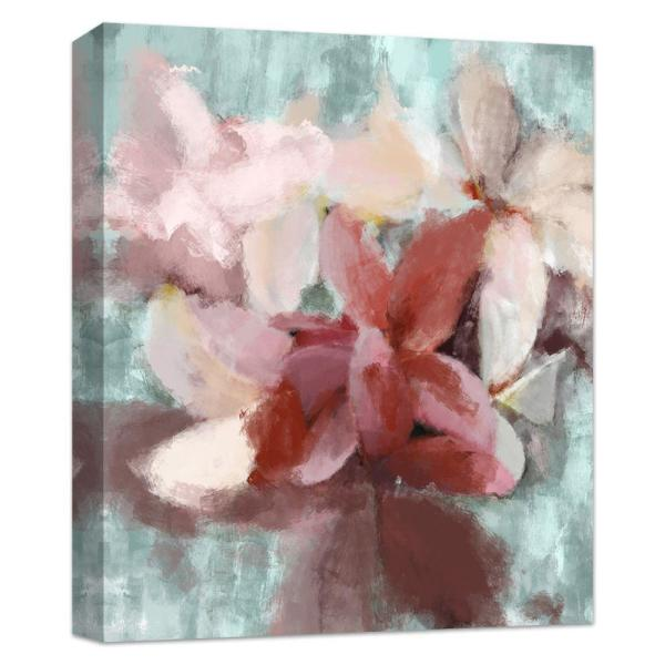 PTM Images 10 in. x 12 in. ''Abstract Lilys'' Canvas Wall