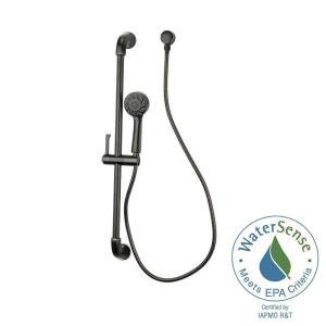 Pfister Arterra Single-Spray Wall Bar Shower Kit in Tuscan Bronze by Pfister