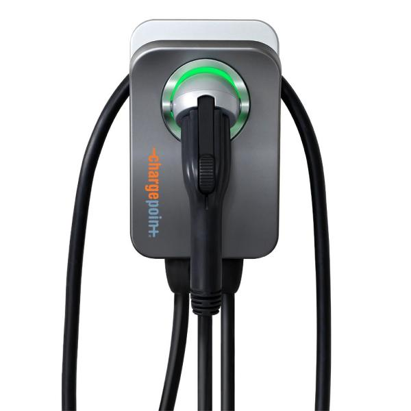 Home Flex Electric Vehicle (EV) Charger 16 to 50 Amp 240-Volt Wi-Fi NEMA 14-50 Plug Indoor/Outdoor 23 ft. cable