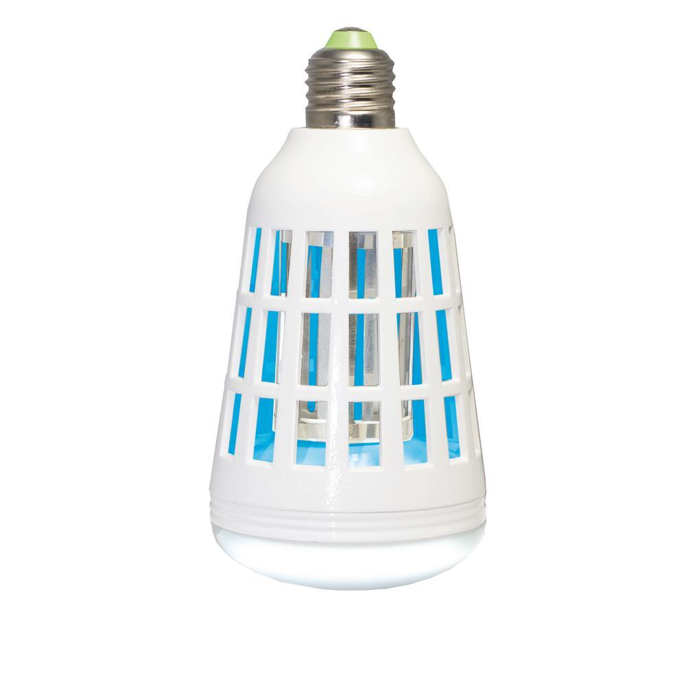 Ninja Bulb 75W Equivalent 2-in-1 LED Light Bulb and Bug Zapper