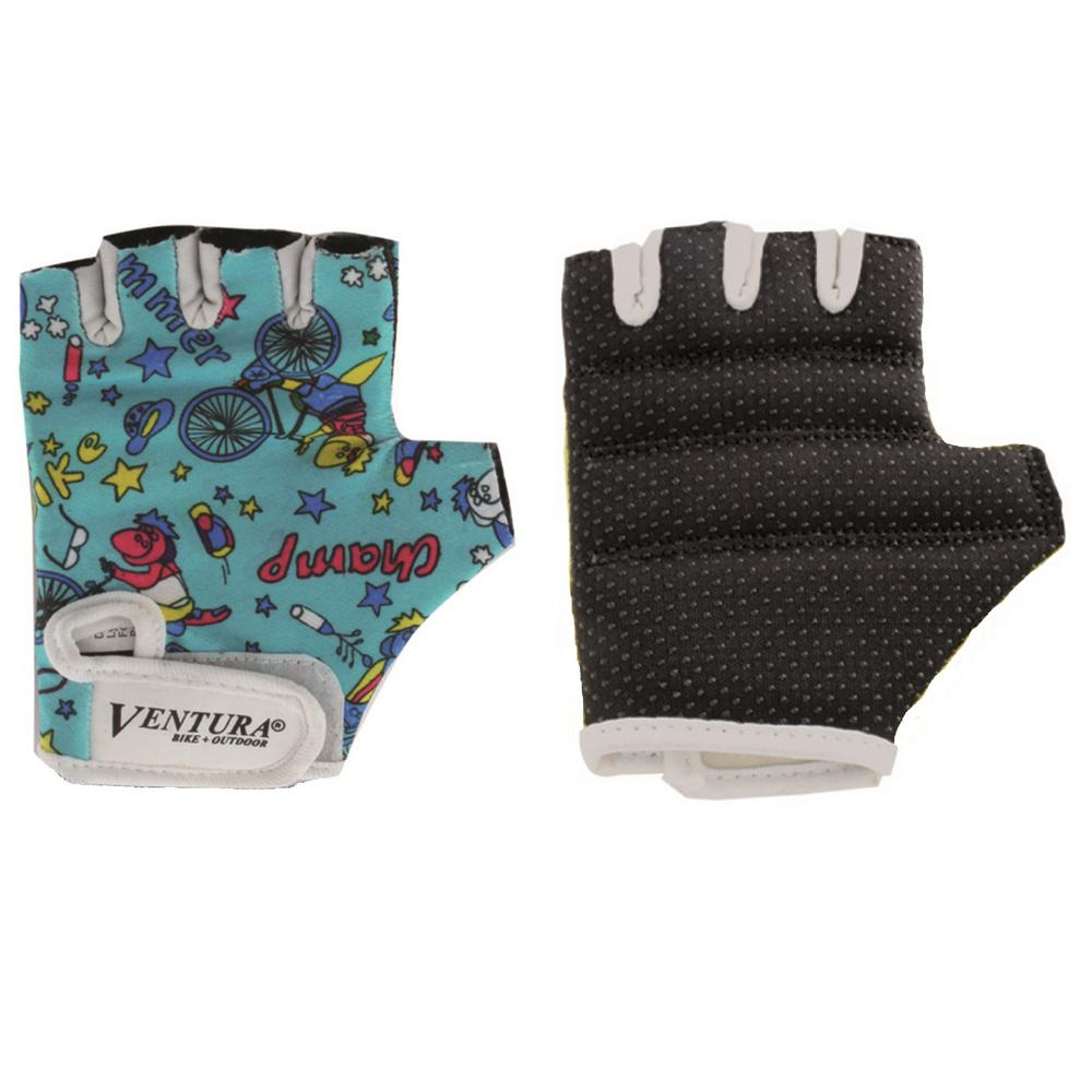 Ventura Small Green Bicycle Gloves