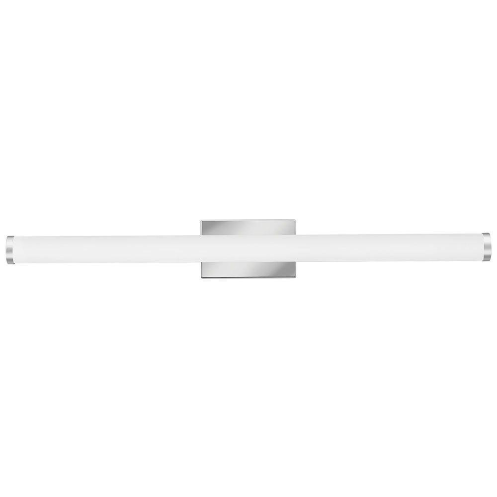 Contemporary Cylinder 3-Light Chrome 4K LED Vanity Light