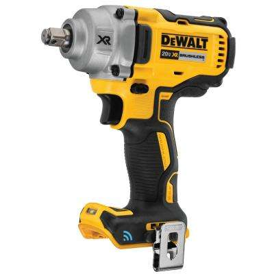 20-Volt MAX Lithium-Ion Cordless Brushless 1/2 in. Impact Wrench with Hog Ring Anvil and Tool Connect (Tool Only)
