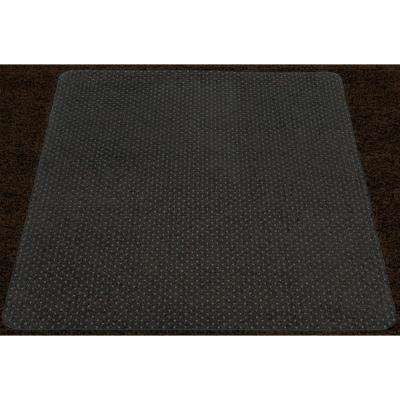 Super Grip Clear 36 in. x 48 in. Vinyl Carpet Chair Mat