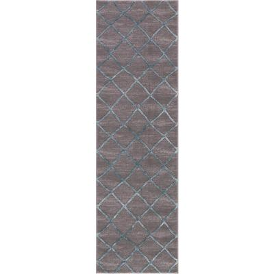 Thema Teo Teal 2 ft. x 7 ft. Area Rug
