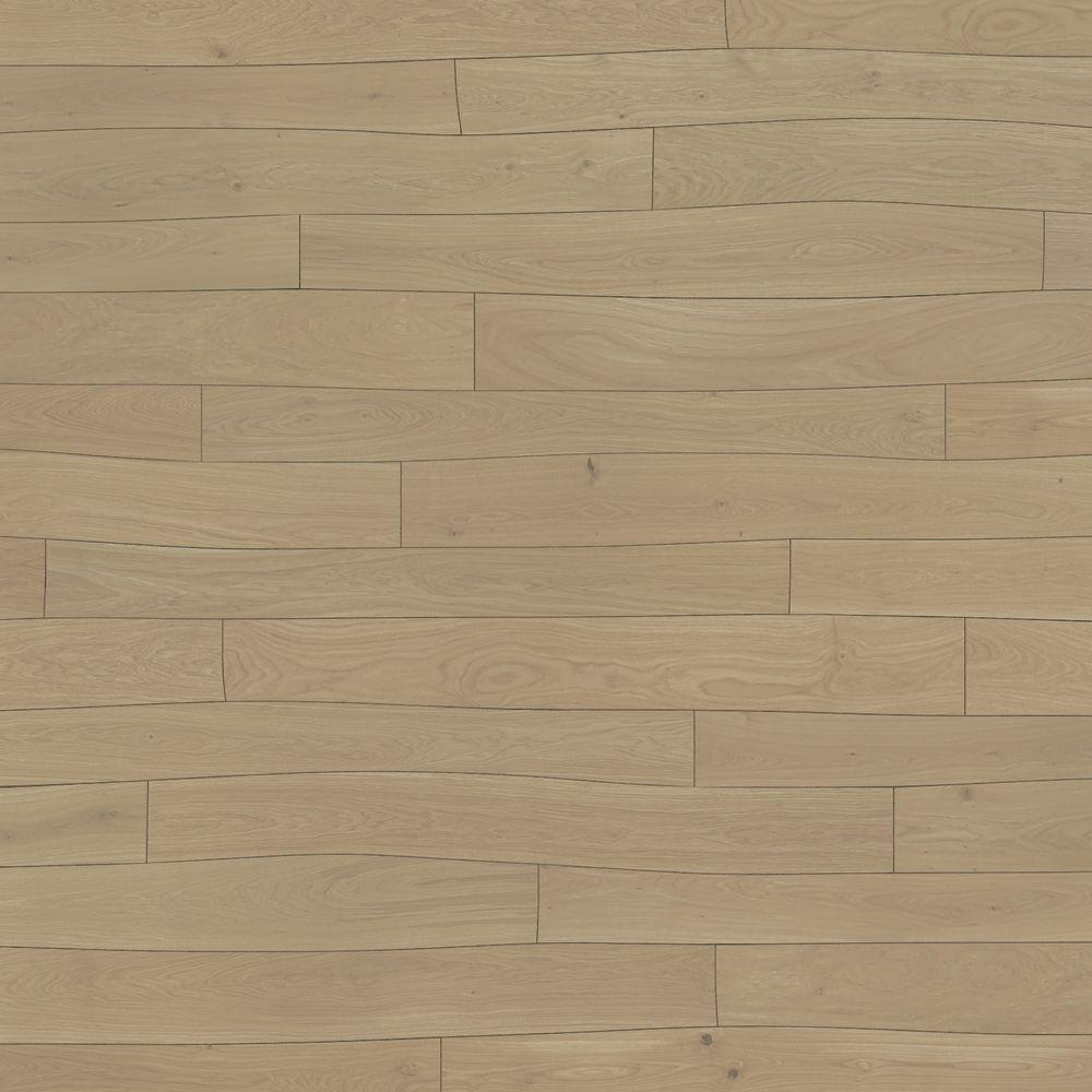 Bolefloor Curv8 Oak Champagne 1/2 in. Thick x 8.66 in. Wide x 71.26 in. Length Engineered Hardwood Flooring (30 sq. ft. / case)