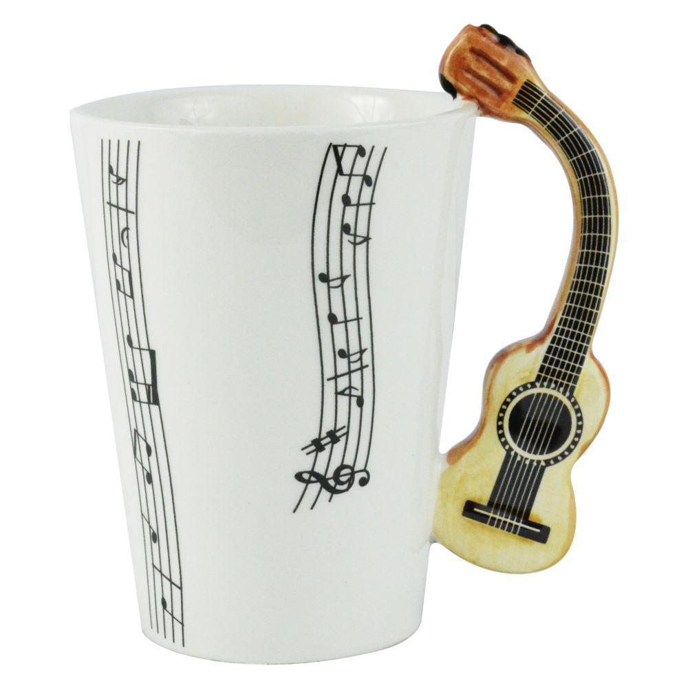 8 oz. Guitar Coffee Mug