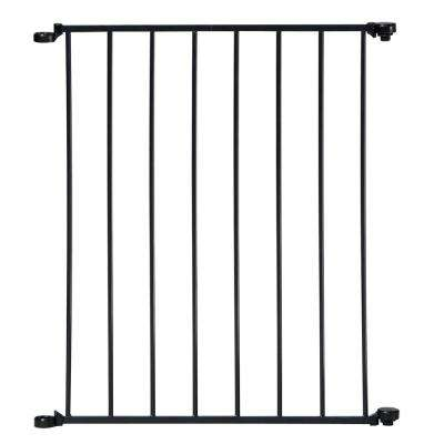 24 in. Extension For Black Auto Close Configure or Hearth Gate