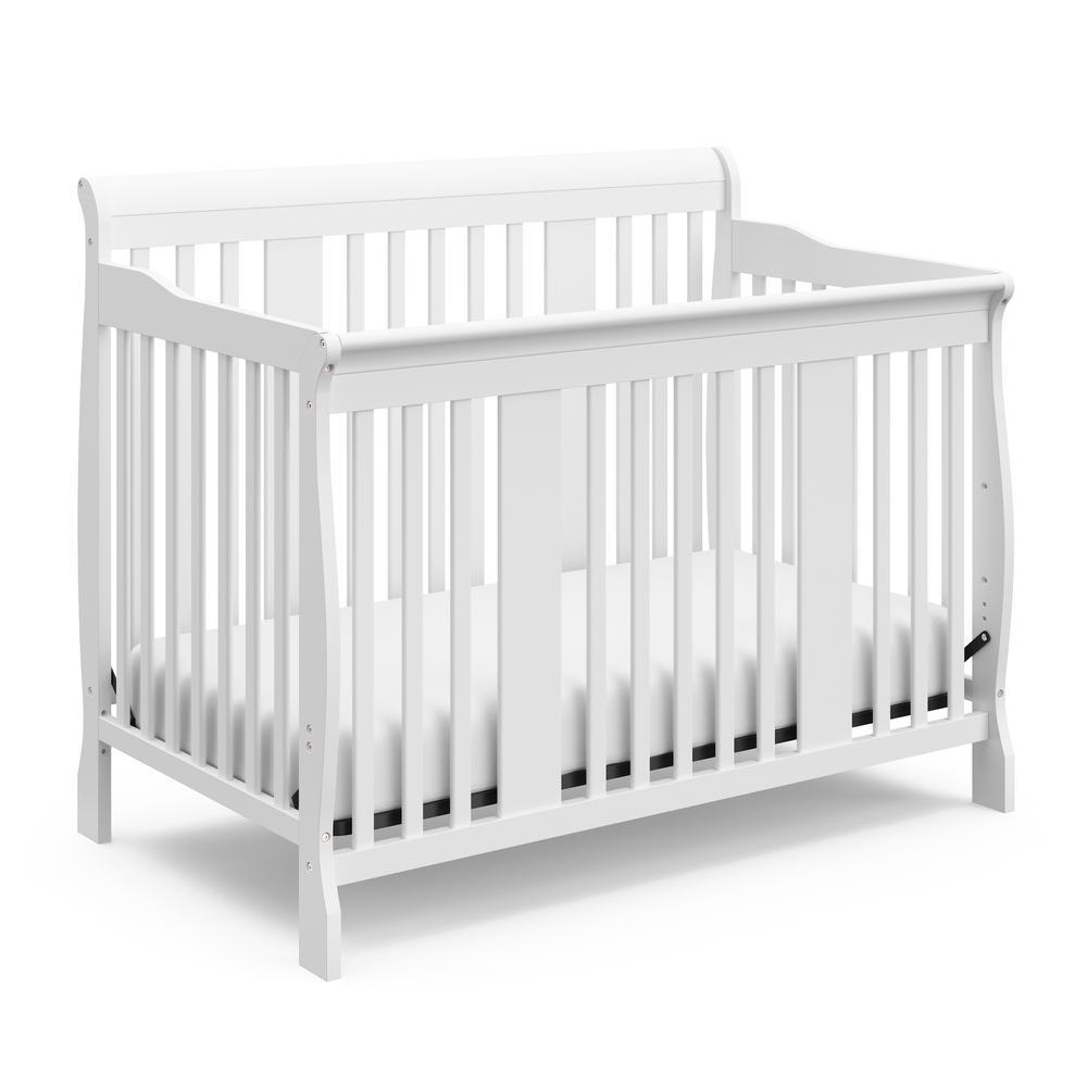 Tuscany White 4 in-1-Convertible Crib