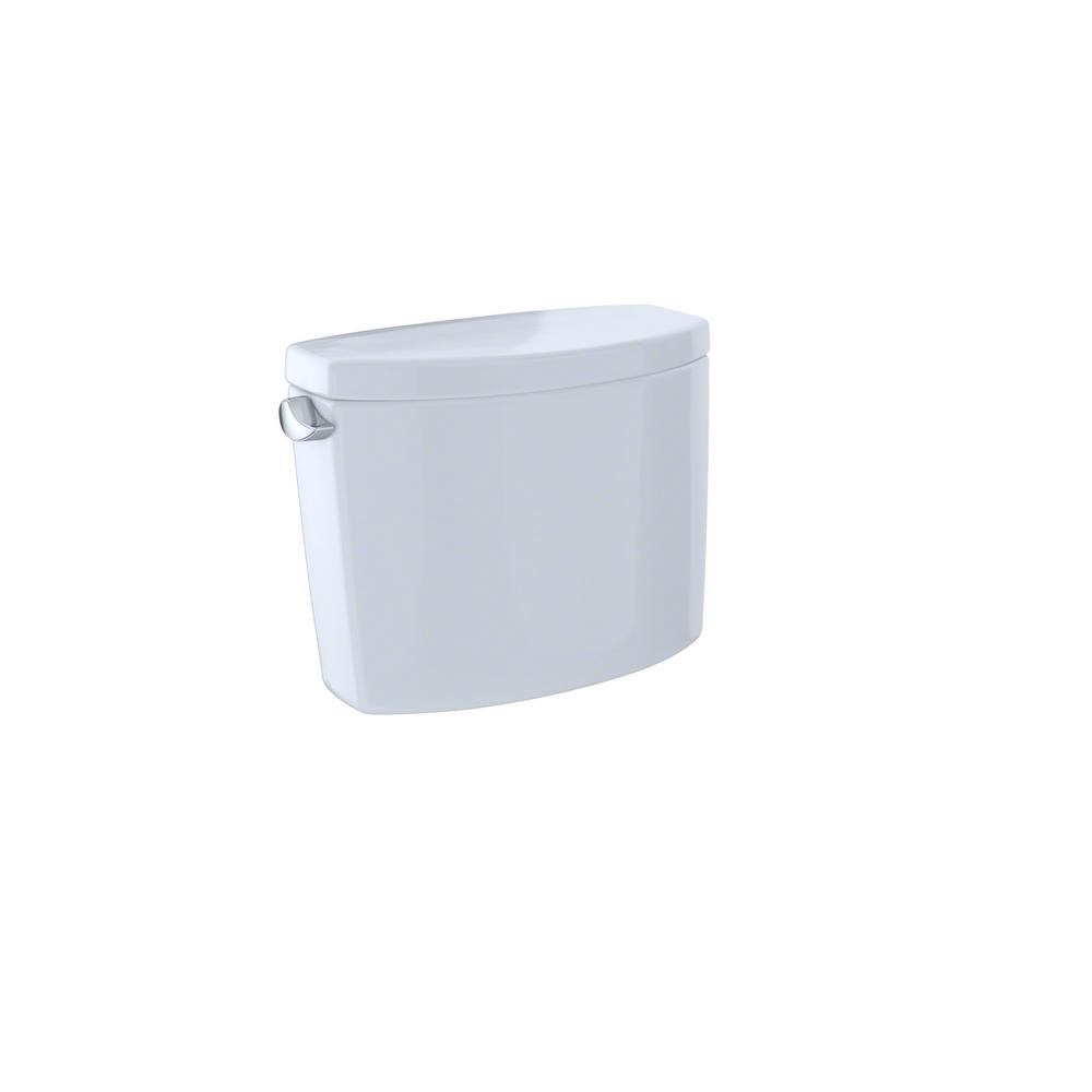 TOTO Drake II 1.28 GPF Single Flush Toilet Tank Only in Cotton White