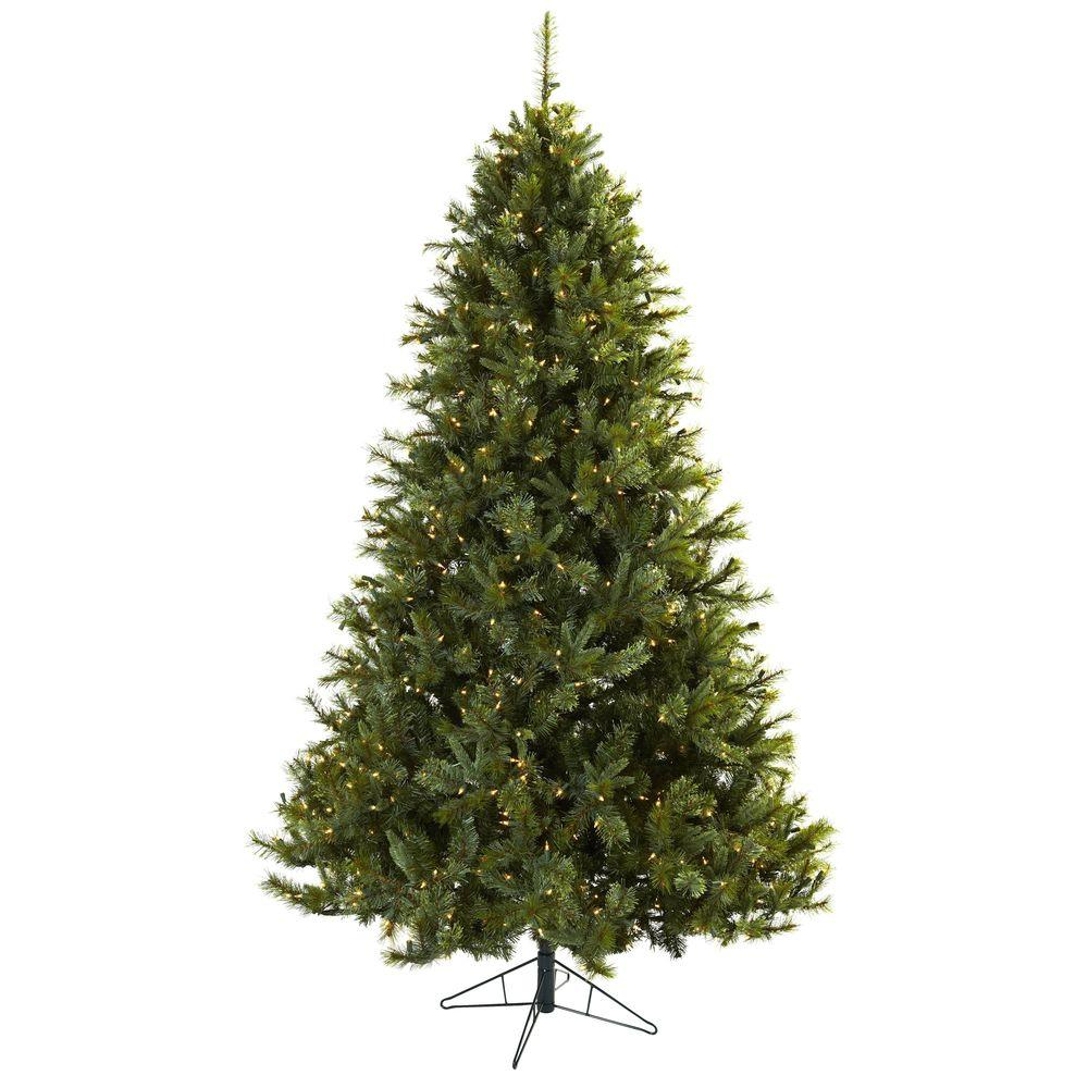 Nearly Natural 7.5 ft. Majestic Multi-Pine Artificial Christmas Tree ...