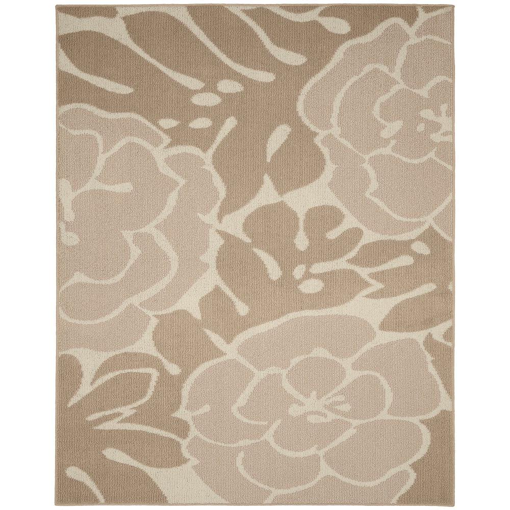 Garland Rug Valencia Tan Ivory 8 Ft X 10 Ft Area Rug Ll490a096120g3 The Home Depot