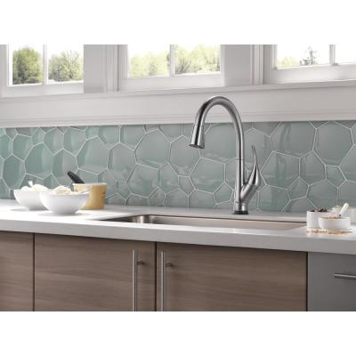 Esque Single-Handle Pull-Down Sprayer Kitchen Faucet with Touch2O and ShieldSpray Technology in Arctic Stainless