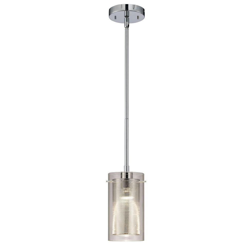 Chrome - Pendant Lights - Lighting - The Home Depot