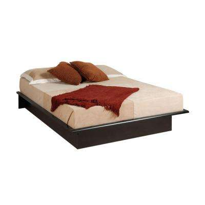 Queen Wood Platform Bed