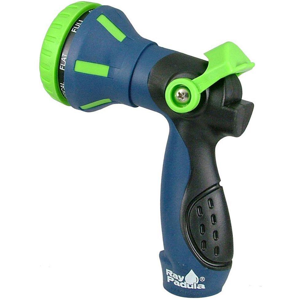 Thumb Control 8-Pattern Hose Nozzle