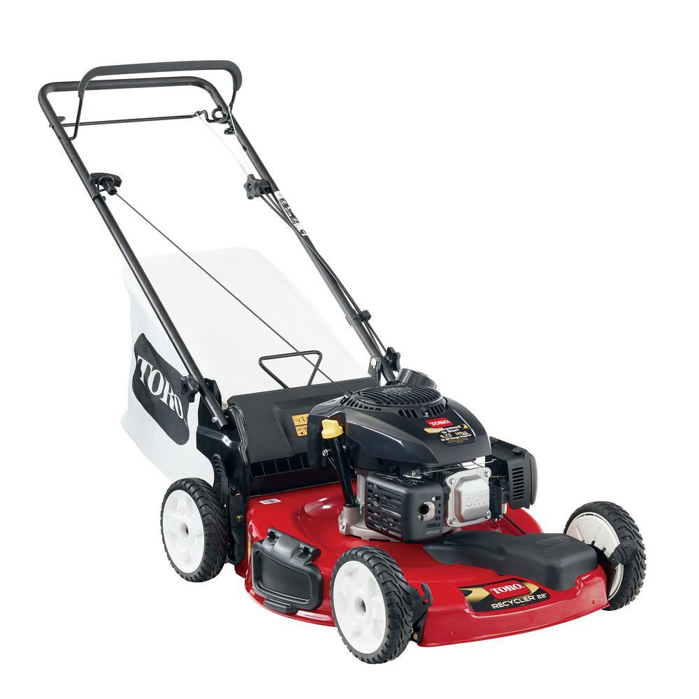 22 In Kohler Low Wheel Variable Sd Gas Walk Behind Self Propelled Lawn Mower