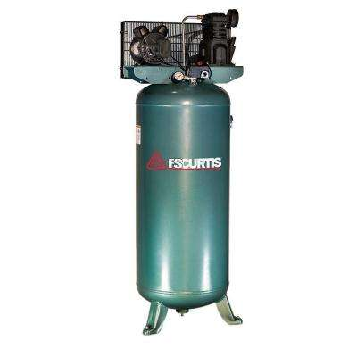 60 Gal. 3 HP Electric 230-Volt 1-Phase Air Compressor