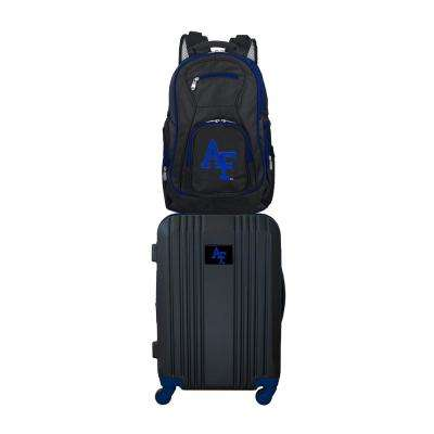 NCAA Air Force Falcons 2-Piece Set Luggage and Backpack