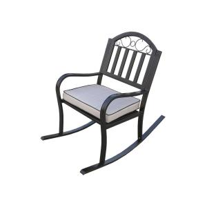 Rochester Rocking Patio Chair with Cushion   Oakland Living  Oakland Living Mississippi Patio Rocking Chair 2114 AB   The Home  . Oakland Living Mississippi Patio Rocking Chair. Home Design Ideas