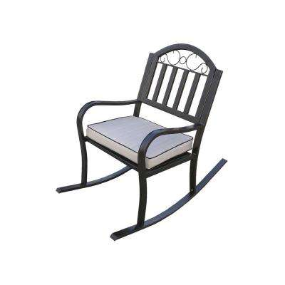 Rochester Rocking Patio Chair with Cushion