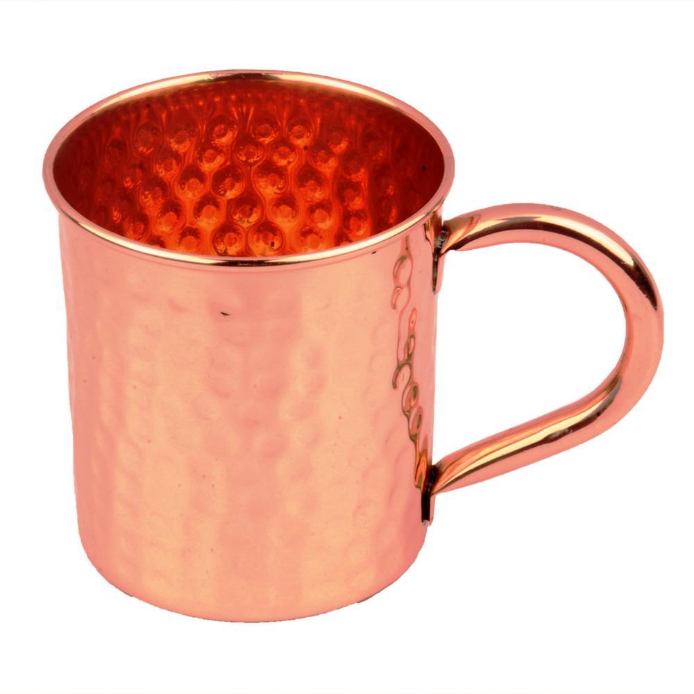 Hammered Moscow Mule 16 oz. 100% Copper Mug
