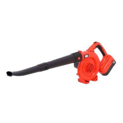 120 MPH 90 CFM 18-Volt Ni-Cad Cordless Handheld Leaf Sweeper with 1.5Ah Battery and Charger Included