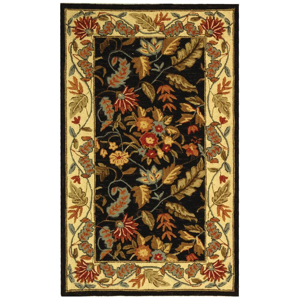 Safavieh Chelsea Black 2 Ft 9 In X 4 Ft 9 In Area Rug