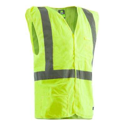 Men's X-Large Hi-Visibility Easy-Off Vest