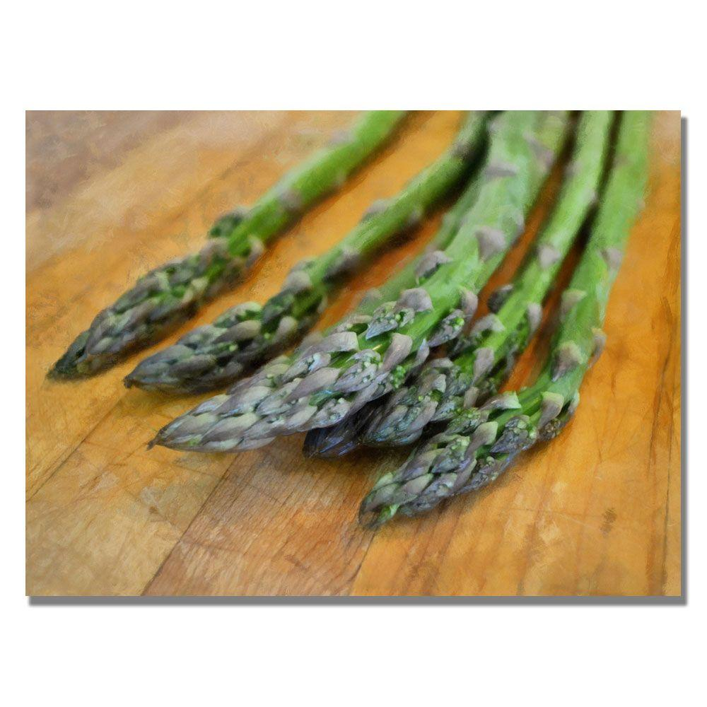 18 in. x 24 in. Asparagus Canvas Art