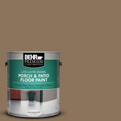 1 gal. #N260-6 Outdoor Cafe Low-Lustre Interior/Exterior Porch and Patio Floor Paint