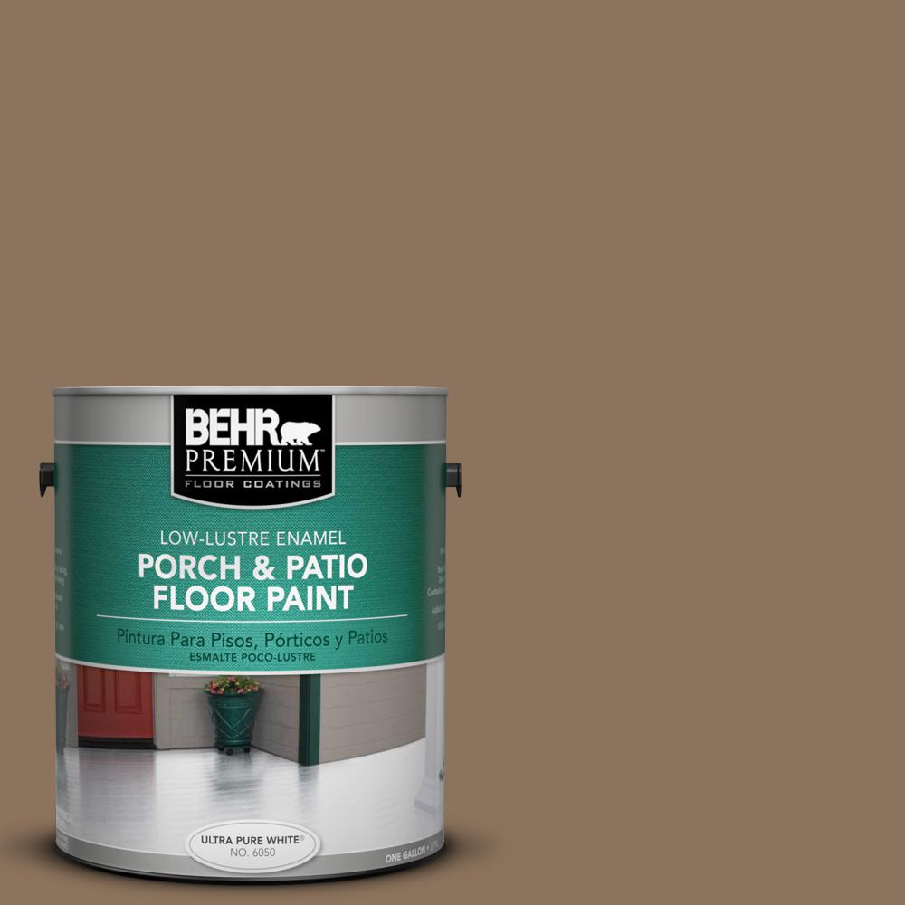 1 gal. #N260-6 Outdoor Cafe Low-Lustre Porch and Patio Floor Paint