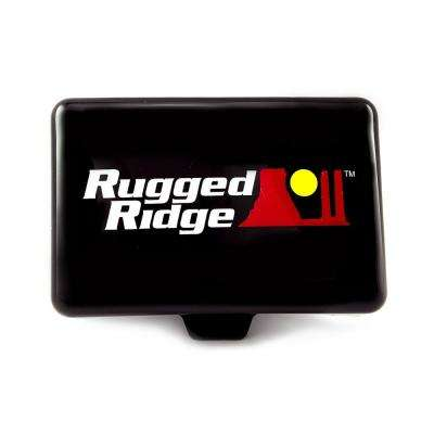Rectangular Off-Road Light Cover in Black
