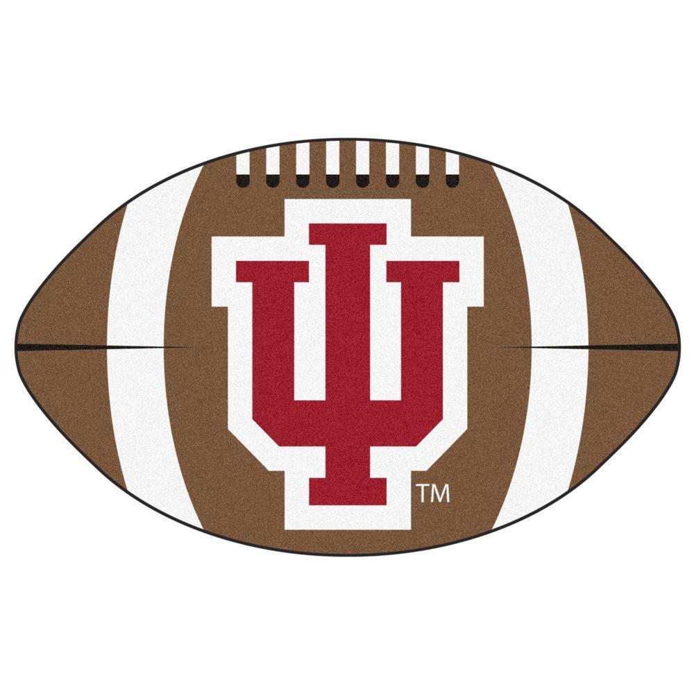 FANMATS 18609 Indiana University Roundel Mat