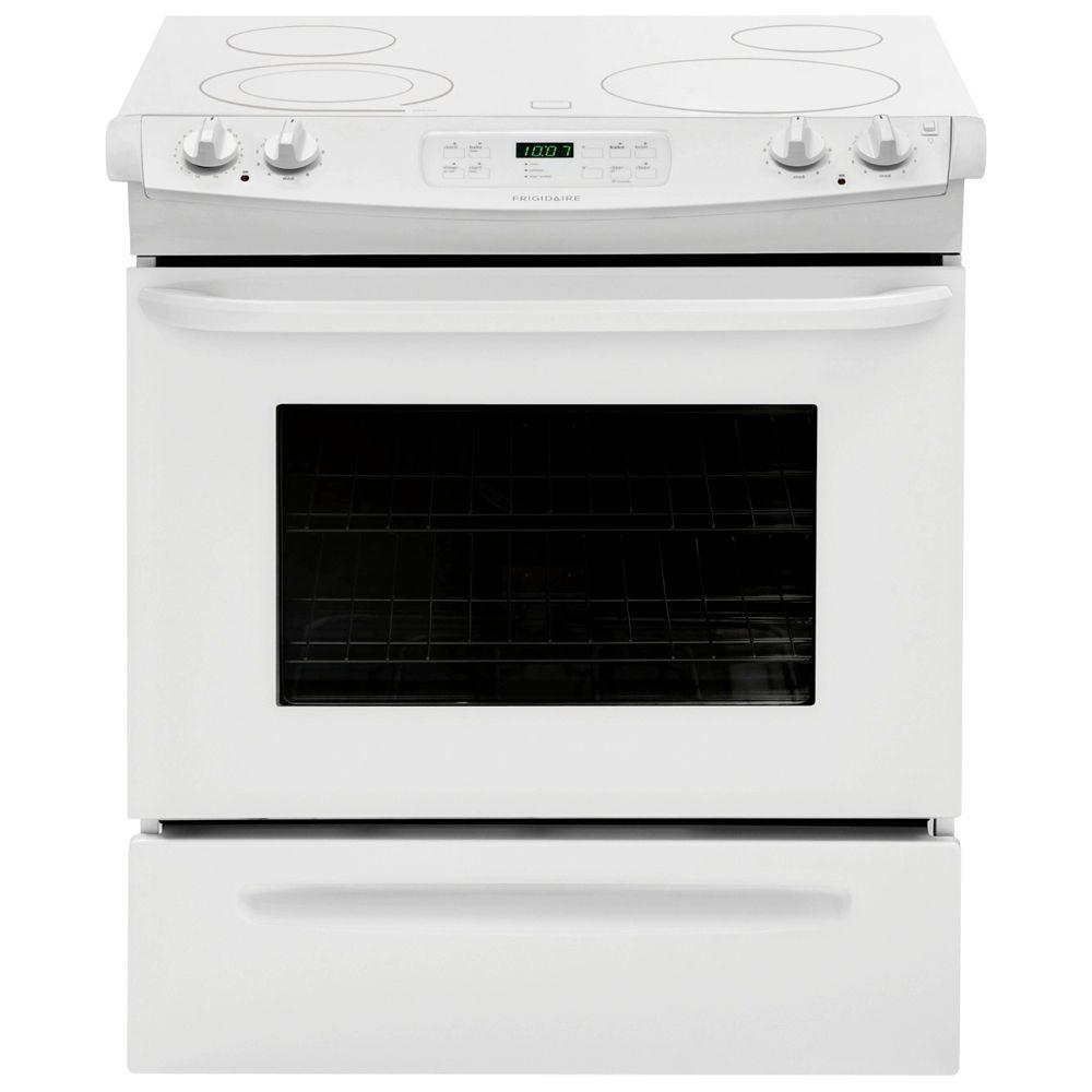 Frigidaire 30 in. 4.6 cu. ft. Slide-In Electric Range with ...