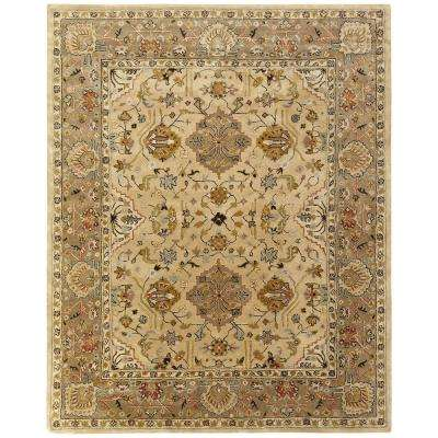 Empire Beige/Brown 8 ft. x 10 ft. Area Rug