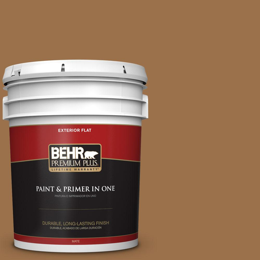 Ppu4 17 Olympic Bronze Flat Exterior Paint And