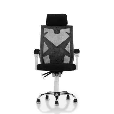 Byron White Mesh Ergonomic Office Chair
