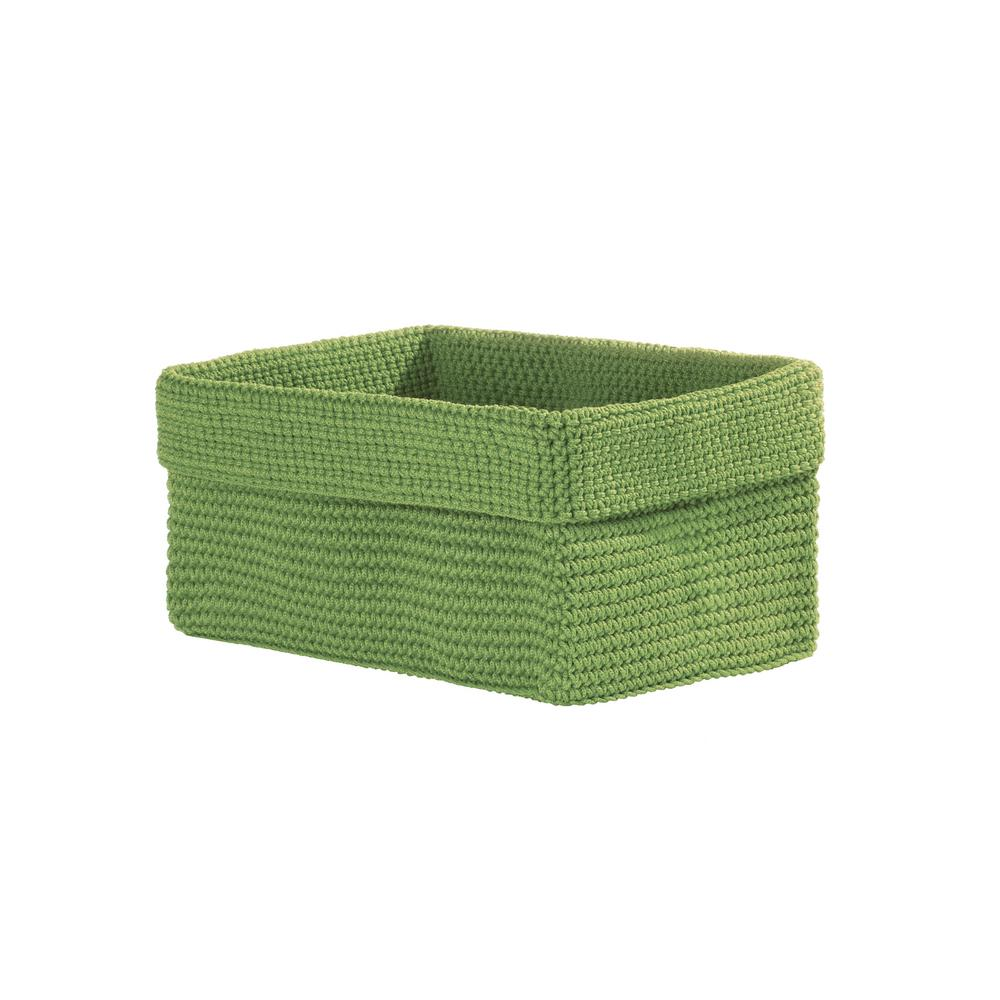 Heritage Lace Mod Crochet Rectangular Polypropylene Basket