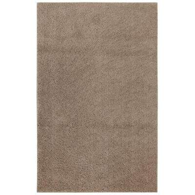 Modern Shag Coconut Tufted 8 ft. x 10 ft. Area Rug