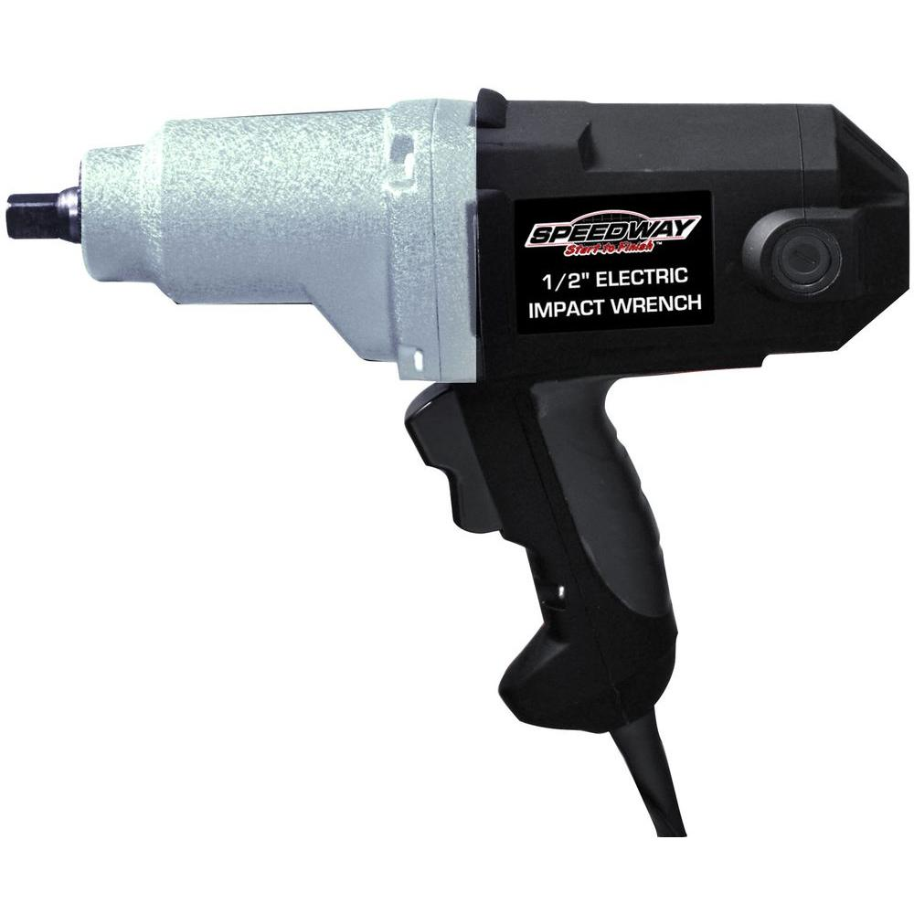 SPEEDWAY 110-Volt 1/2 in. Electric Impact Wrench