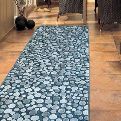 Effervescence Ocean 2 ft. 6 in. x 7 ft. 8 in. Runner