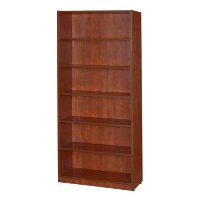 Legacy 71 in. Cherry High Bookcase