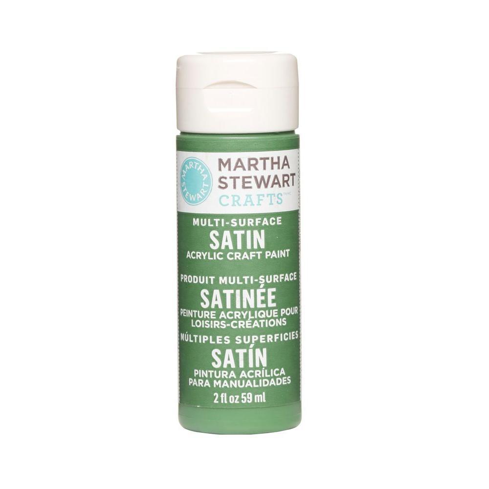 Martha Stewart Crafts 2-oz. Pesto Multi-Surface Satin Acrylic Craft Paint