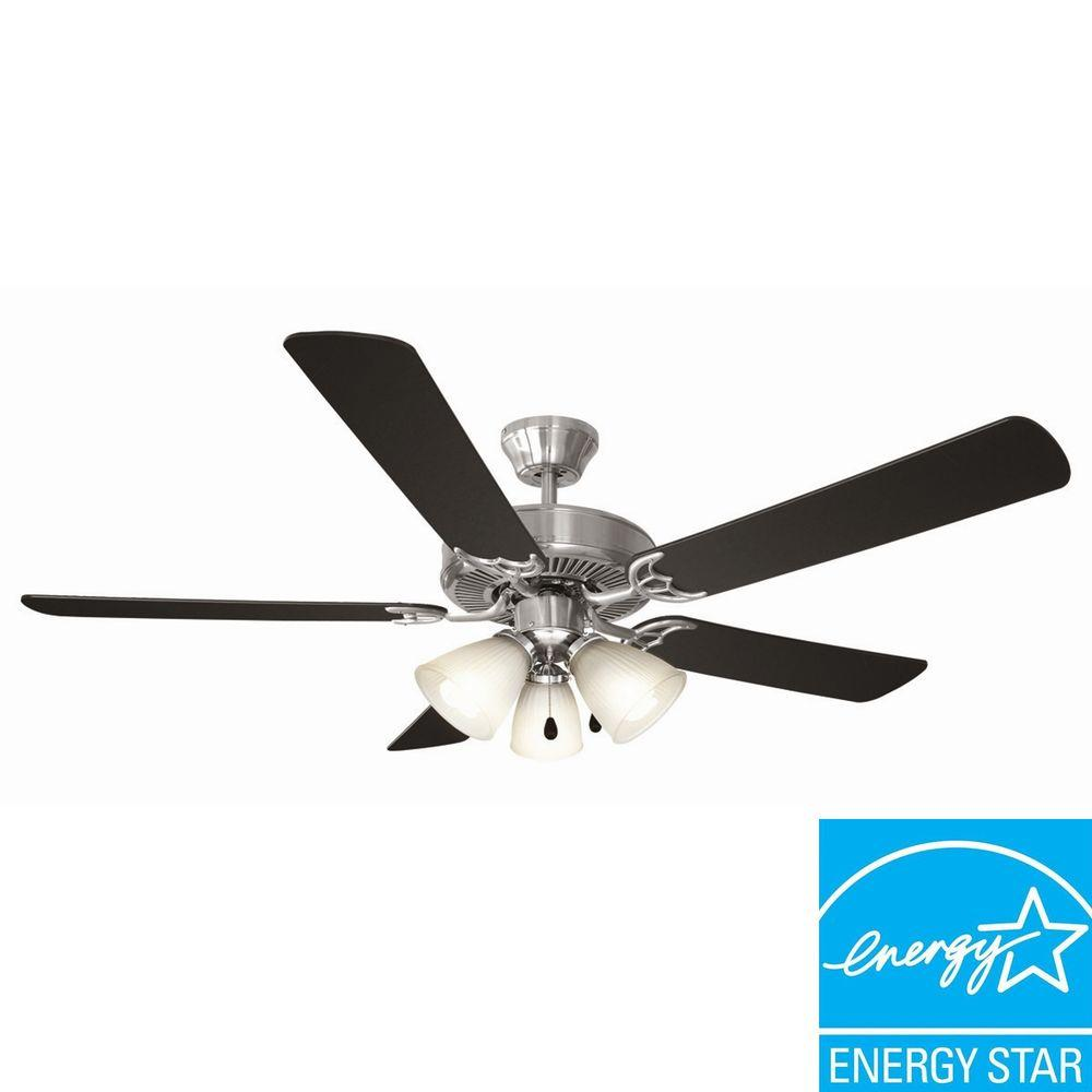 Design house millbridge 52 in white ceiling fan 153965 the home depot white ceiling fan aloadofball Image collections